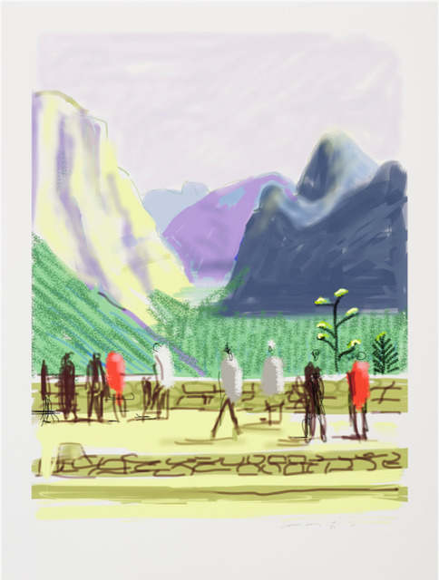 David Hockney, 'The Yosemite Suite No.15', 2010, Print, Digital print on paper, Dallas Collectors Club