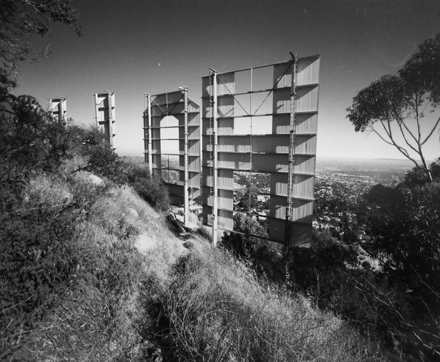 Bruce Davidson, 'Untitled, Los Angeles [Hollywood Sign]', 1964, ROSEGALLERY