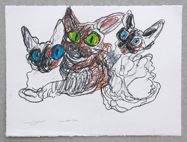 , 'Trois Amis,' 2016, IFAC Arts