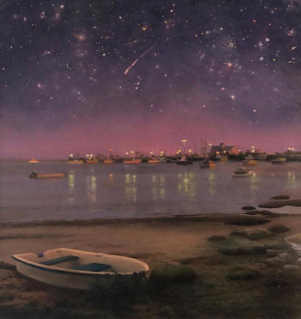 Scott Prior, 'Evening, Provincetown Harbor', 2019, William Baczek Fine Arts