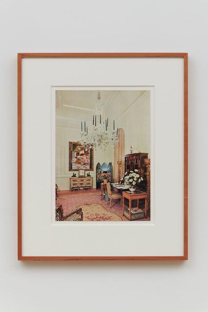 Rose English, 'Baroque Ruby 1', 1973, Richard Saltoun