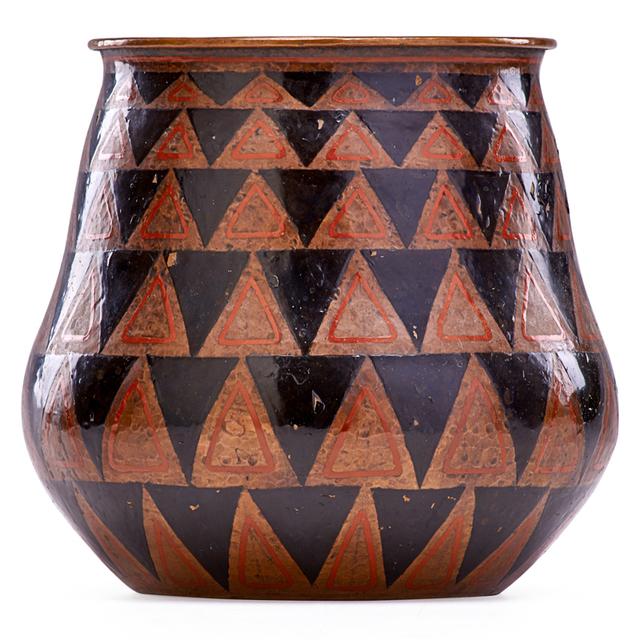 Jean Dunand, 'Art Deco Vase, France', 1920s-30s, Rago/Wright