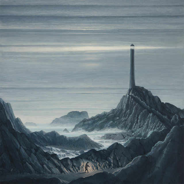 , 'The Lighthouse,' , The Scottish Gallery