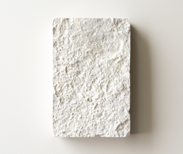 Shinji Turner-Yamamoto, 'Constellaria #21', 2020, Mixed Media, Cast gypsum from c.a. 450-million-year-old fossils, silver leaf, chalk, gesso, clay bole, animal glue, natural resin, Sapar Contemporary