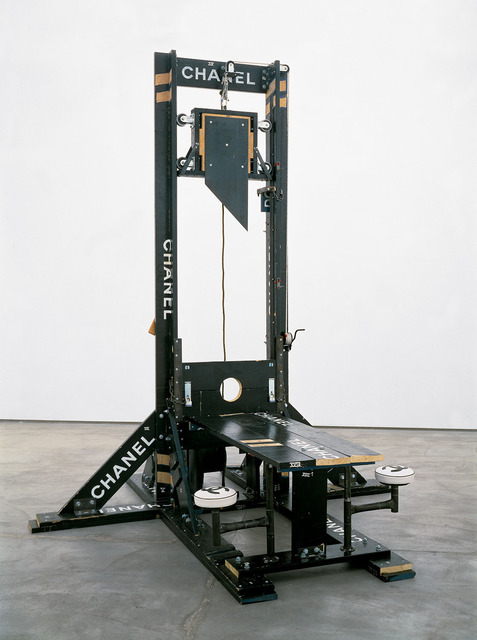 Tom Sachs, 'Chanel Guillotine (breakfast nook)', 1998, Gagosian