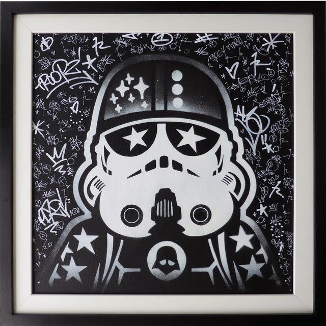 , 'Lego Trooper,' 2016, ZK Gallery