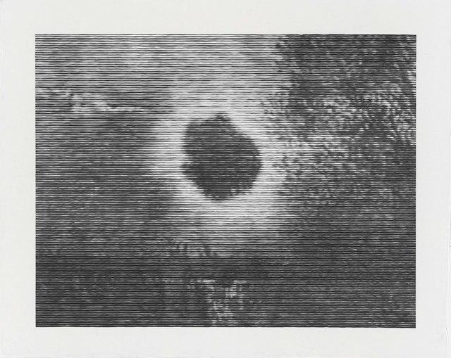 , 'Schwarze Sonne,' 2016, Galerie Christian Lethert
