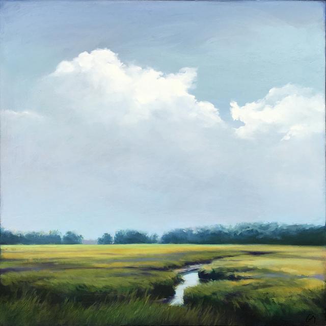 Margaret Gerding, 'Sky of Blue/Grey', 2018, Arden Gallery Ltd.