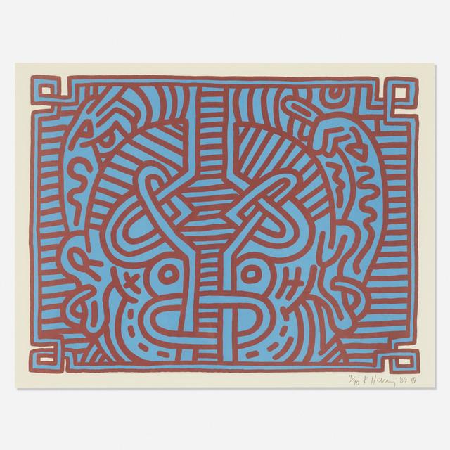 Keith Haring, 'Chocolate Buddha 1', 1989, Wright