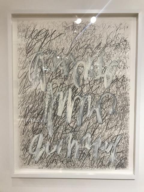 , 'Asemic N0130.18,' 2018, DIALECTO Gallery