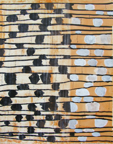 , 'Partitur #60,' 2010, Häusler Contemporary