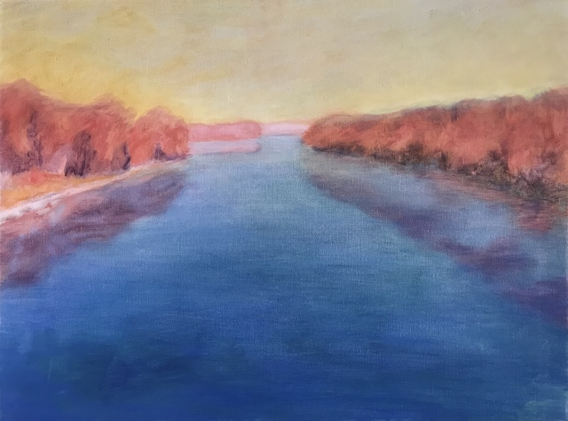 , 'Connecticut River, Looking North ,' 2015, Canal Street Art Gallery