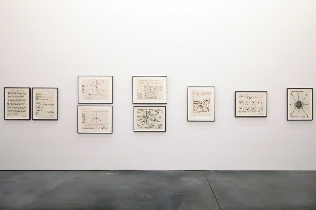 "Installation view of ""Parrish Perspectives–Joe Zucker: Life & Times of an Orb Weaver"", on view at the Parrish Art Museum March 15, 2015 – April 26, 2015. Photo: Daniel Gonzales"