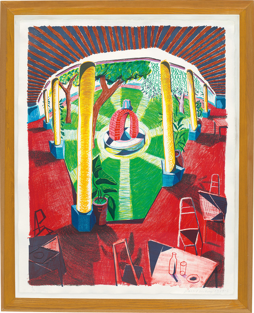 David Hockney, 'Views of Hotel Well III, from Moving Focus Series', 1984-85, Phillips