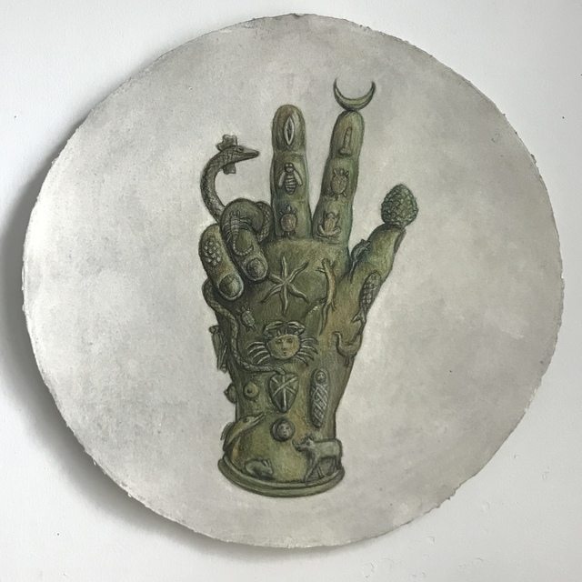 , 'The Hand of Sabazios,' 2018, The Schoolhouse Gallery