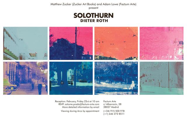 , 'Der Solothurner Bahnhofsplatz,' 1970, Zucker Art Books