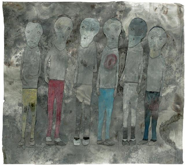 Richard Kimathi, 'Conversation VI', 2019, One Off Contemporary Art Gallery