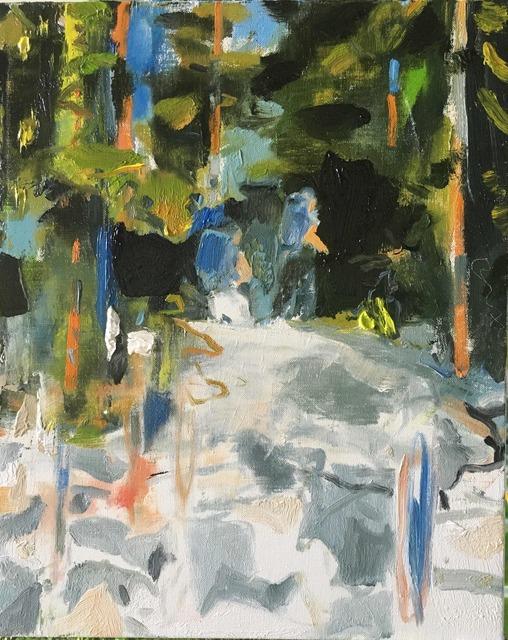 , 'Through Hikers,' 2017, Tayloe Piggott Gallery