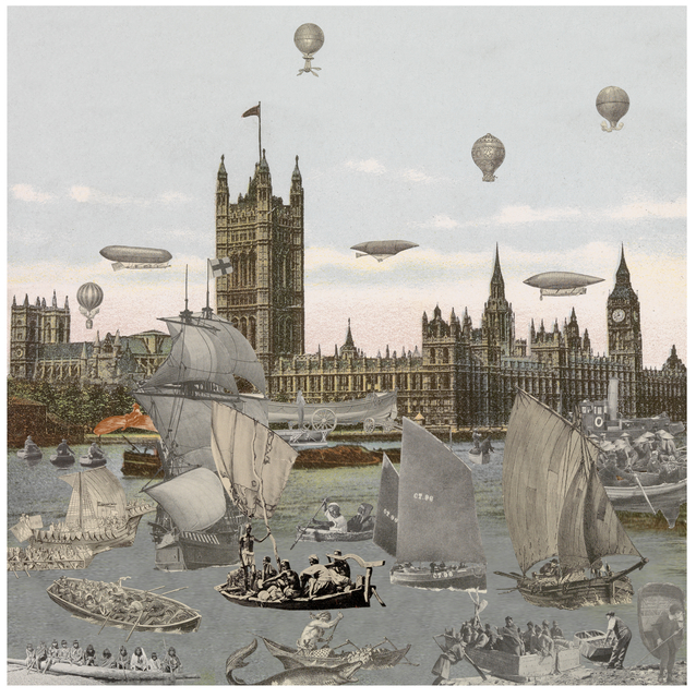 , 'London- River Thames- Regatta,' 2013, Paul Stolper Gallery
