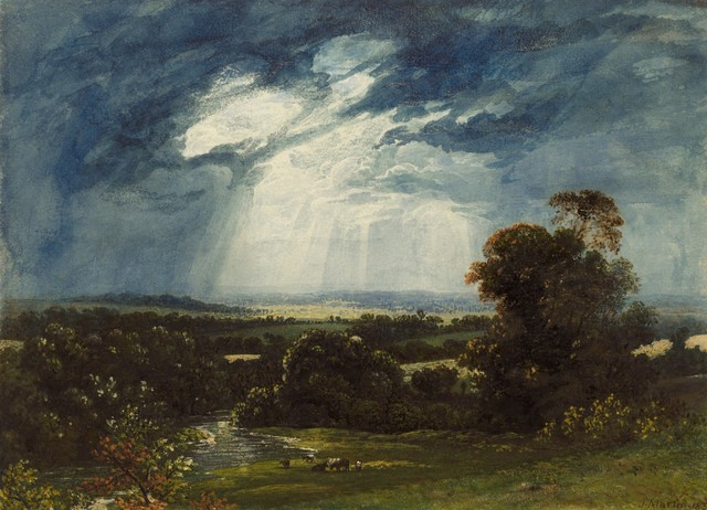 , 'Landscape with Cattle Grazing in the Foreground,' 1833, Clark Art Institute
