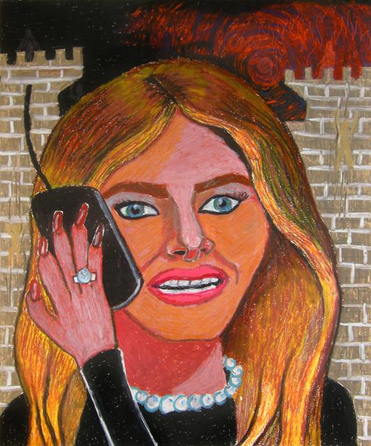Bruna Massadas, 'Melania Speaks to Secret Service', 2016, The Dot Project