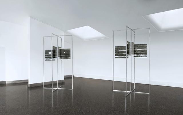 , 'snow+concrete XIV and XII ,' 2009-2012, Galerie du Monde