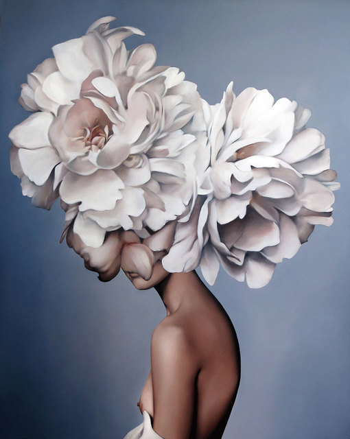, 'Elegant petals,' 2018, Hicks Gallery