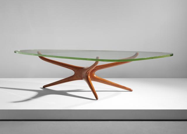 Vladimir Kagan Tri Symmetric Coffee Table Circa 1953 Artsy
