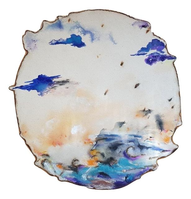 , 'Blue Clouds,' 2018, Janet Rady Fine Art