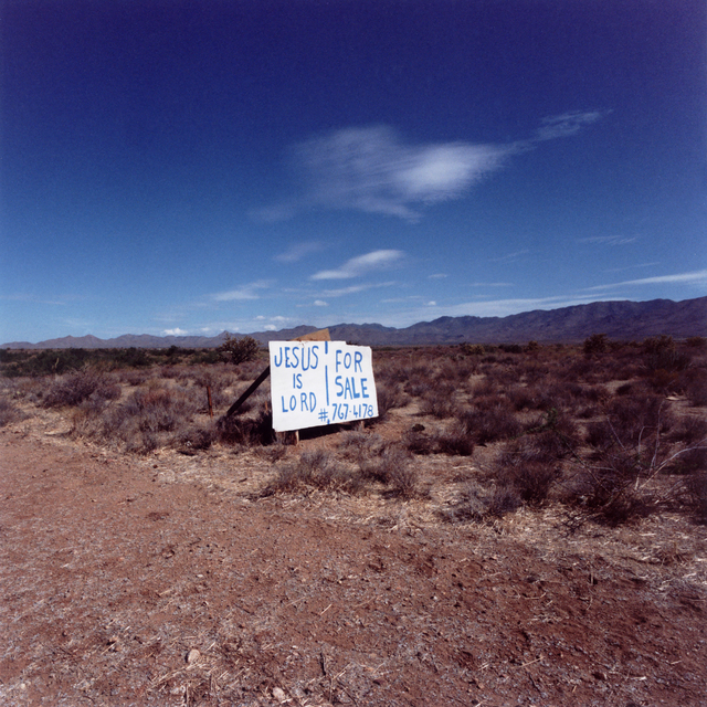 , 'Jesus is Lord, Nevada,' 2007, Gallery Vassie