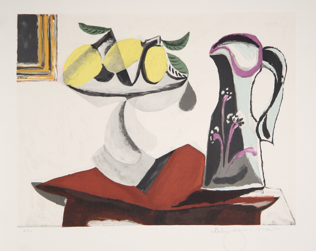 Pablo Picasso, 'Nature Morte au Citron et a la Cruche', 1979-1982, RoGallery