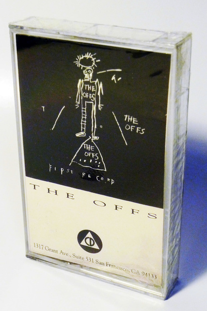 Jean-Michel Basquiat, 'Basquiat The Offs 1984 (cassette) ', 1984, Lot 180