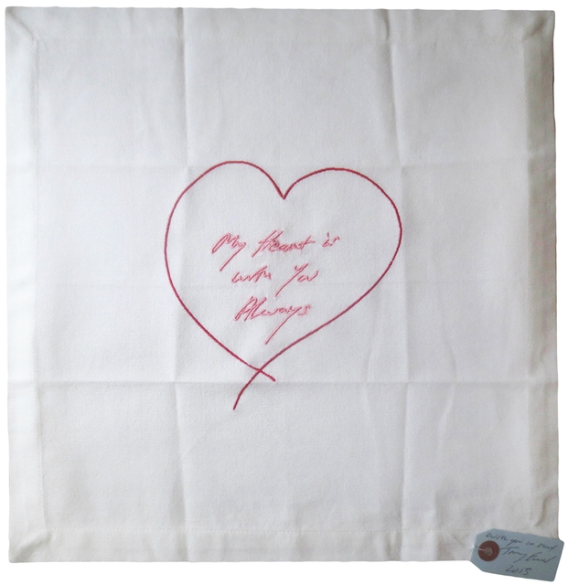 Tracey Emin, 'MY HEART IS WITH YOU ALWAYS ', 2015, Alpha 137 Gallery