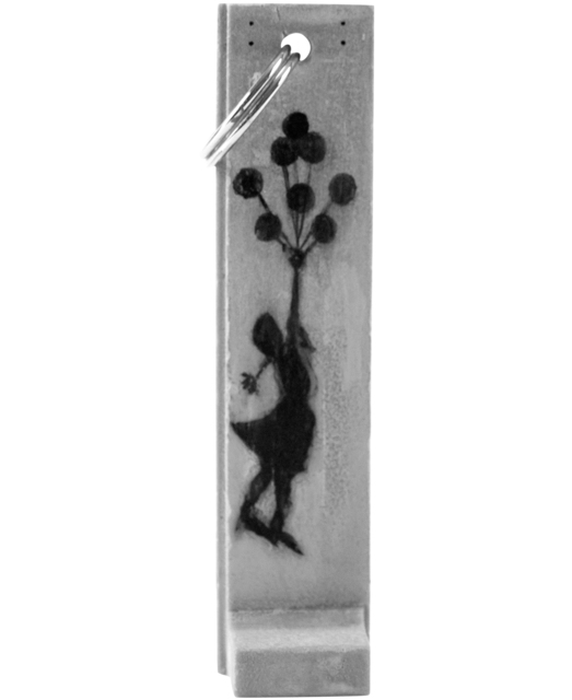 Banksy, 'GIRL WITH BALLOONS SCULPTURE KEY FOB (Walled Off Hotel)', ca. 2017, Silverback Gallery