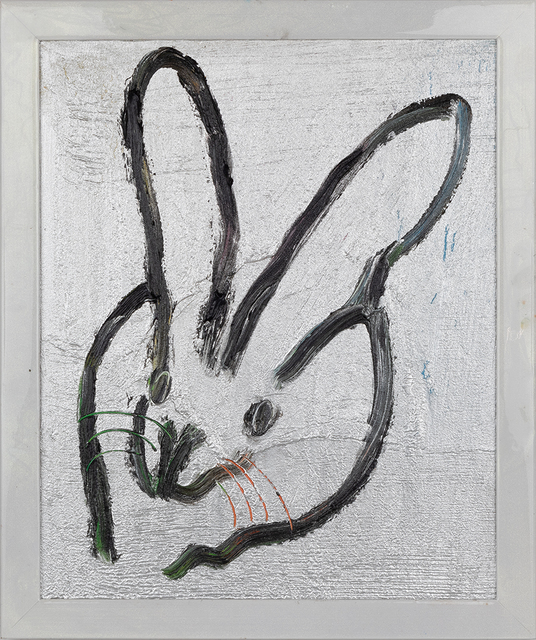 Hunt Slonem, 'Silver Bunny (Planta)', 2019, DTR Modern Galleries