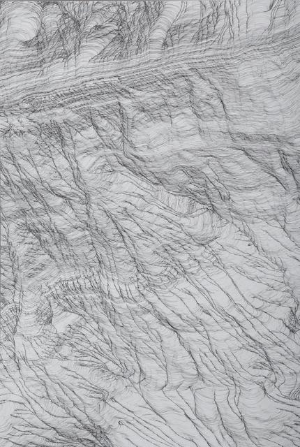 Mio Yamato, 'Repetition Black (line) 5 #B', 2018, COHJU Contemporary Art