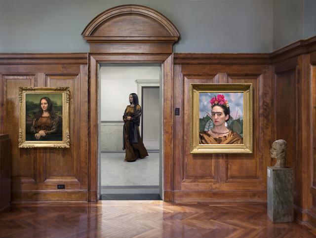 , 'Portraits with Mona,' 2015, Catherine Edelman Gallery