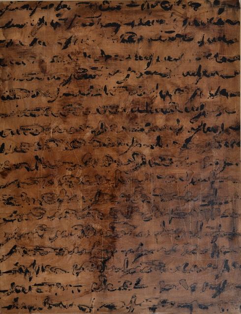 , 'Scrittura,' 2013, Galleria Ca' d'Oro