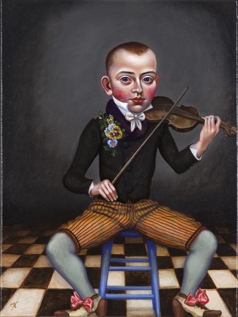 Timothy Cummings, 'Bow Stringed Dandy ', 2016, Nancy Hoffman Gallery