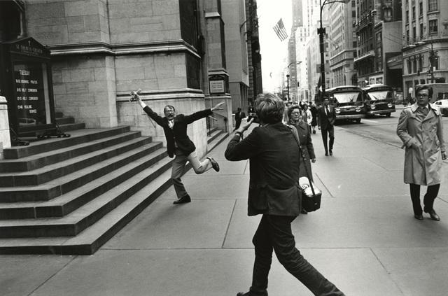 , 'Garry Winogrand and John Szarkowski, New York City,' 1975, Pace/MacGill Gallery