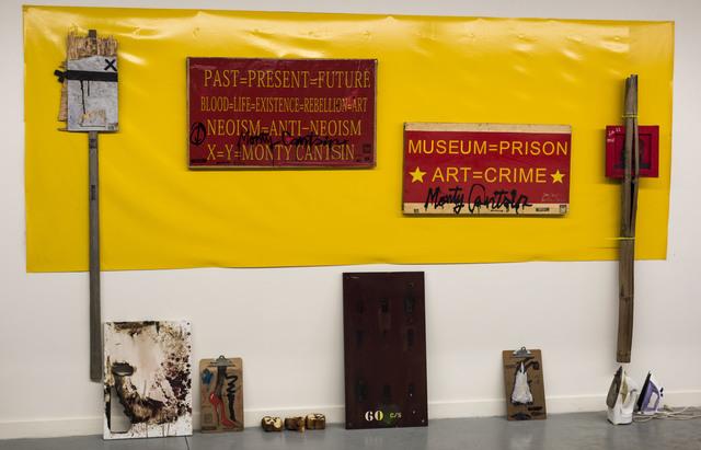 , 'Neoist Cultural Revolution (installation view),' 2015, Robert Kananaj Gallery