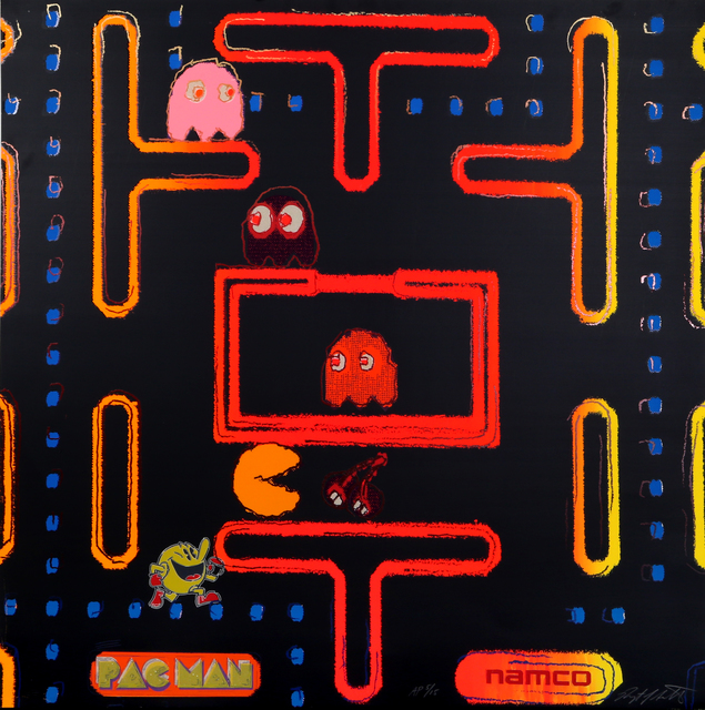 Rupert Jasen Smith, 'Pac-Man from the Homage to Andy Warhol Portfolio', 1989, RoGallery
