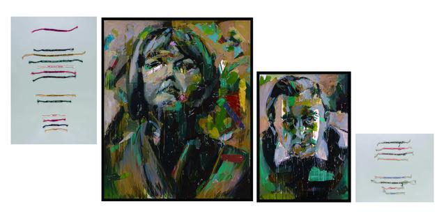 Eşref Yıldırım, 'Paul Celan & Ingeborg Bachmann', 2018, Zilberman Gallery
