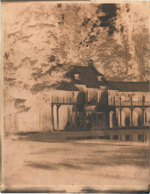 , 'Marie Antoinette's Cttage, Parc de Versailles,' ca. 1852, James Hyman Gallery