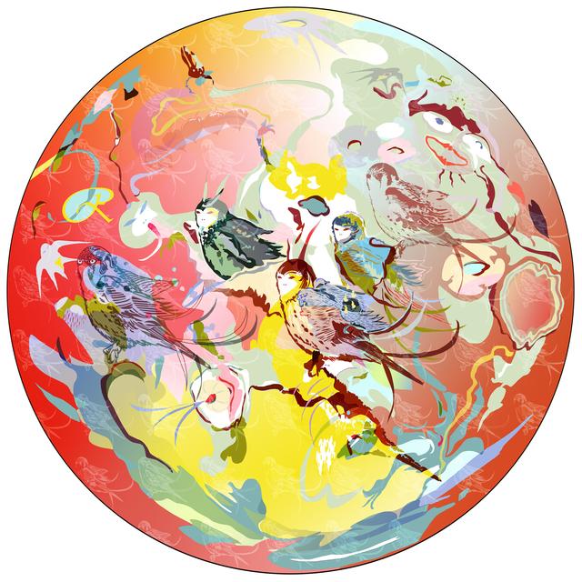 , 'Pangaea Ultima series, #5,' 2015, Gridchinhall