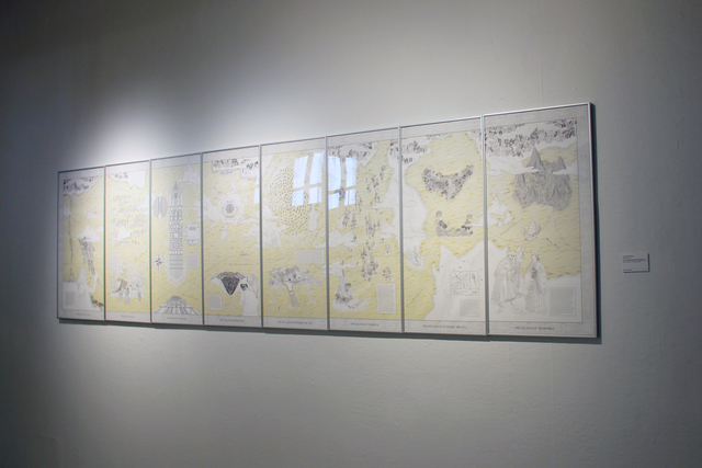 , 'Hong Kong Is Land,' 2014, Hong Kong Arts Centre