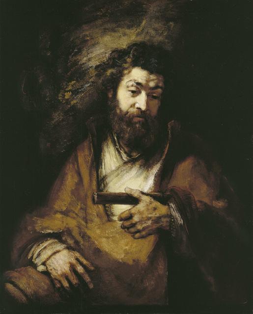 , 'The Apostle Simon,' 1661, The National Gallery, London