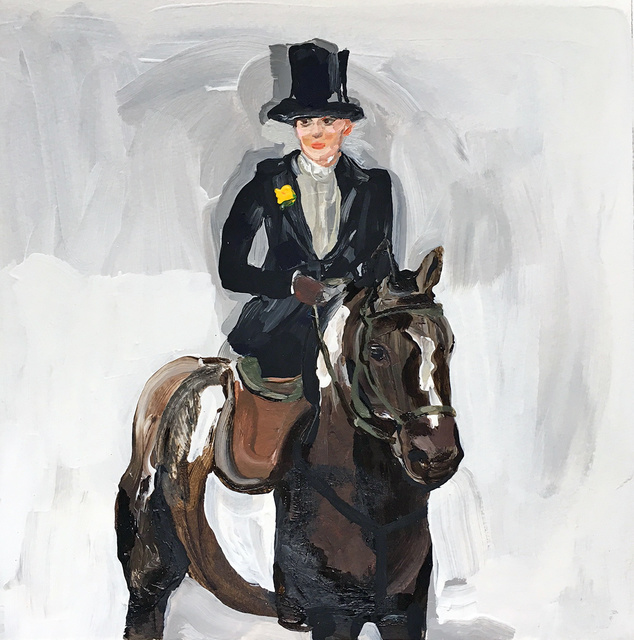, 'Side Saddle (Sargent),' 2017, Sears-Peyton Gallery