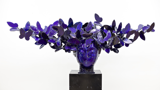 , 'Mariposas Azules,' 2018, Opera Gallery