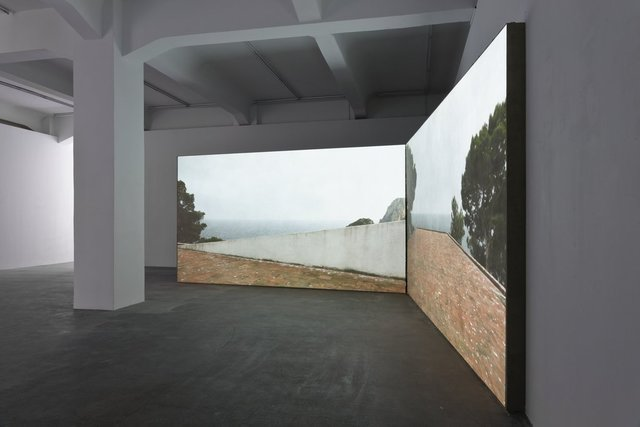 , 'casa malaparte [curved wall   double],' 2014, Galerie Crone